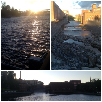 Tammerkoski Rapids, Tampere