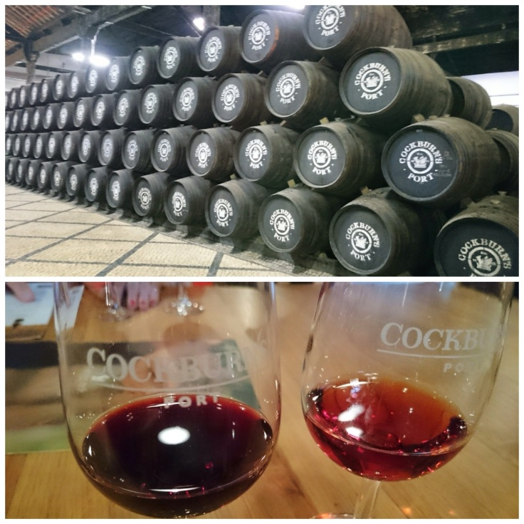 Port tasting at Cockburn's