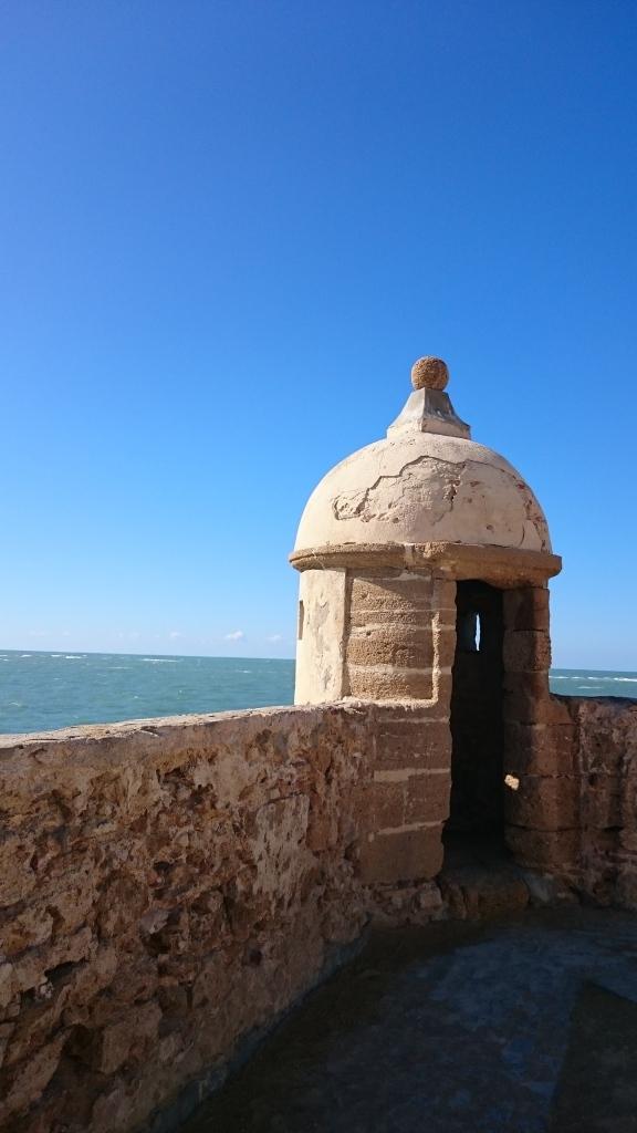 View from Castillo de Santa Catalina