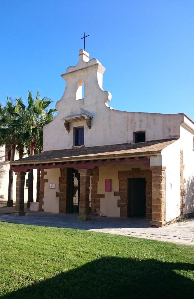 Chapel in Castillo de Santa Catalina
