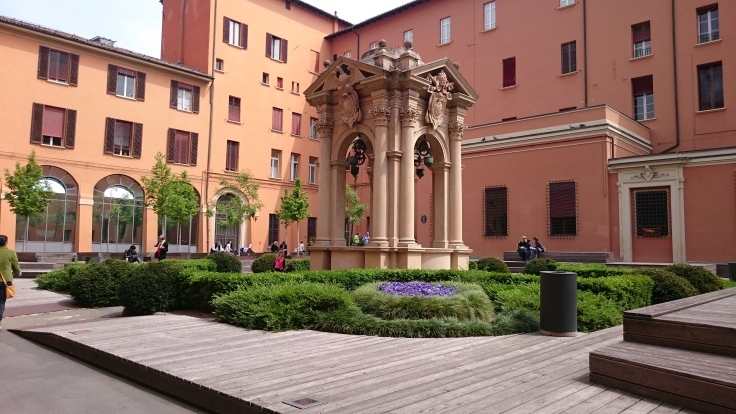Courtyard of Palazzo Comunale