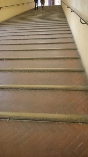 Bramante's staircase in the Palazzo Comunale