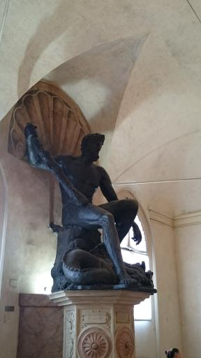 Statue in the Palazzo Comunale