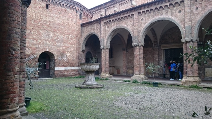 Courtyard of Santo Stefano