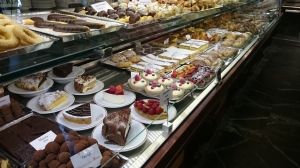 Sweet treats at Caffé Rivoire