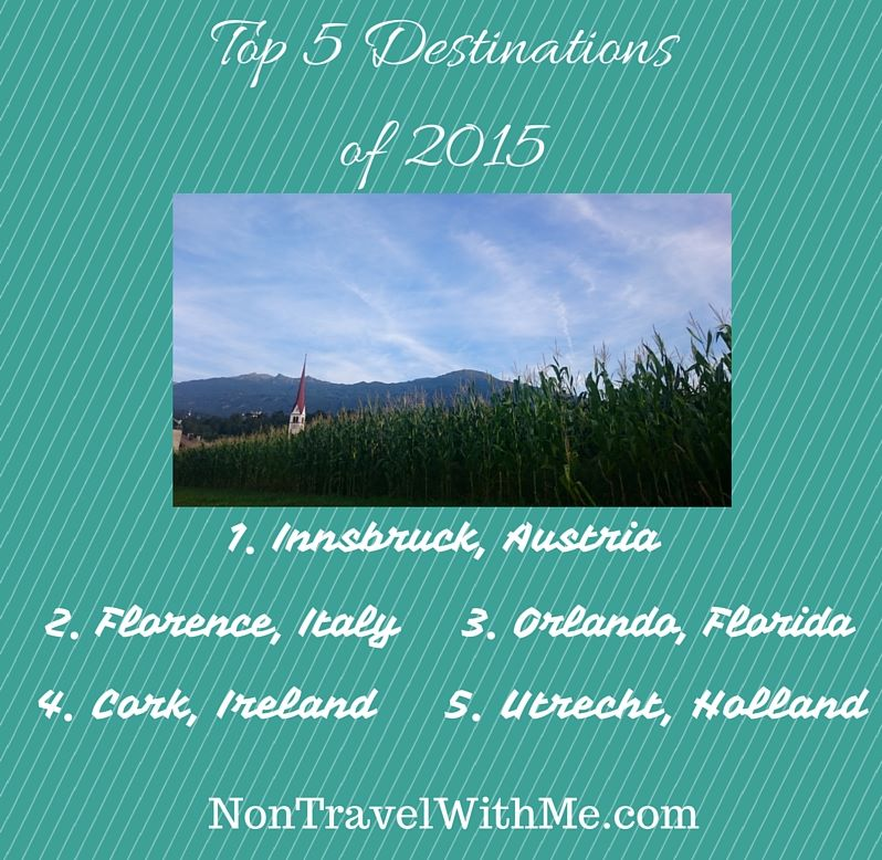 Top 5 Destinationsof 2015